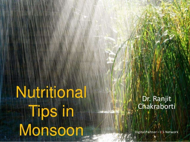 Rc Nutritional Tips In Monsoon