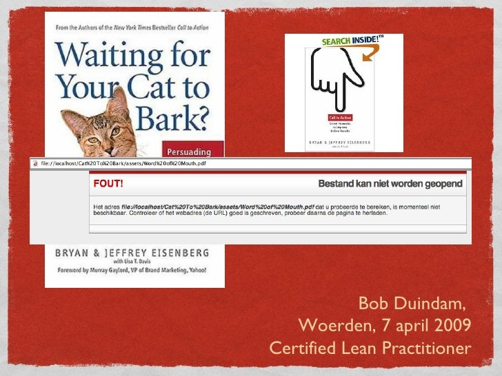 Waiting for your cat to Bark book presentation