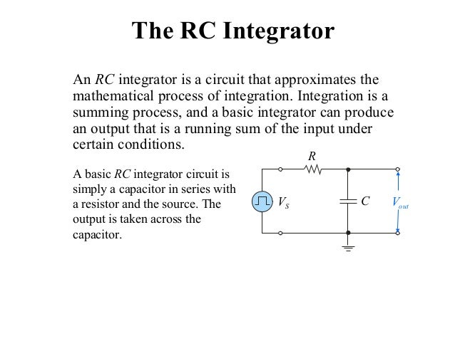 differentiator and integrator circuits Design of fractional order differentiator & integrator circuit using rc cross ladder network international journal of emerging engineering research and technology 129.
