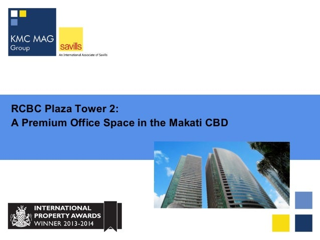 RCBC Plaza Tower 2: A Premium Office Space in Makati