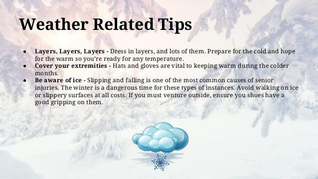 Winter Safety For Seniors