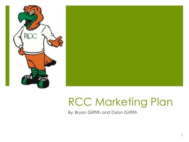 Rcc Marketing Plan Part 1