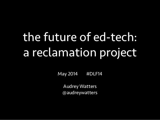 Alberta Digital Learning Forum 2014