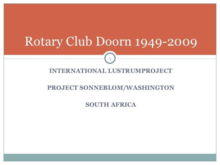 RC Doorn, Project Washington, english