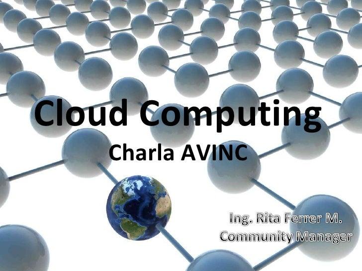 Cloud Computing Charla AVINC