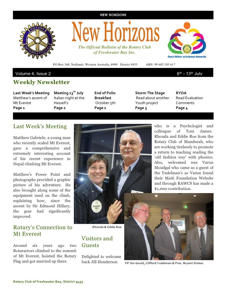 New Horizons Vol 4 Issue 2