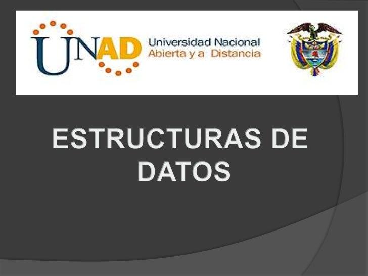 ESTRUCTURAS DE DATOS<br />