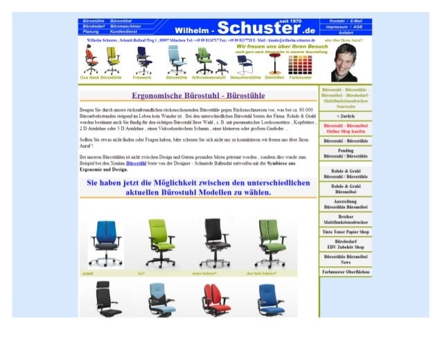 Rückenfreundliche Bürostühle   bürostühle