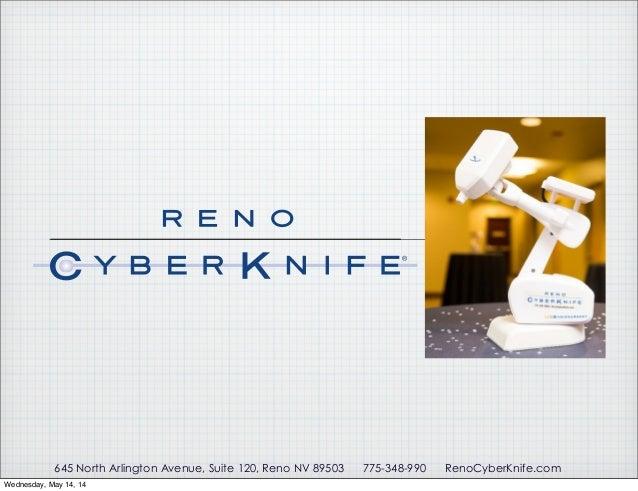 Cancer Treatment at Reno CyberKnife