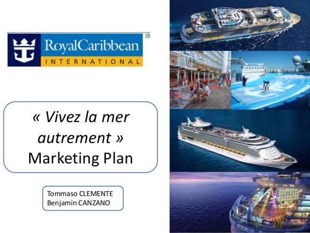 « Vivez la mer autrement »Marketing Plan  Tommaso CLEMENTE  Benjamin CANZANO