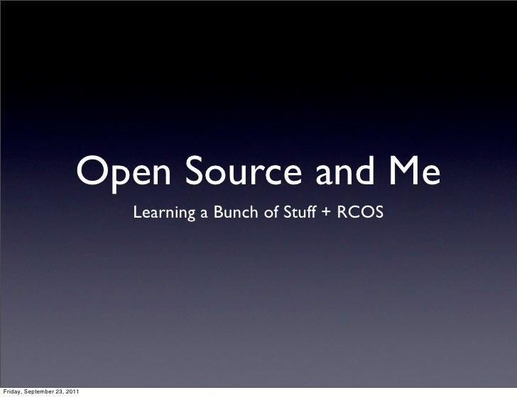 Rcos presentation 9-23-2011