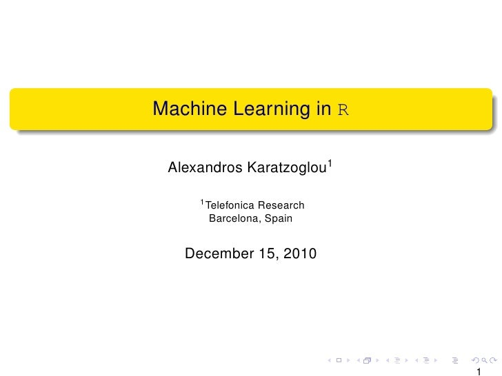 mit machine learning course