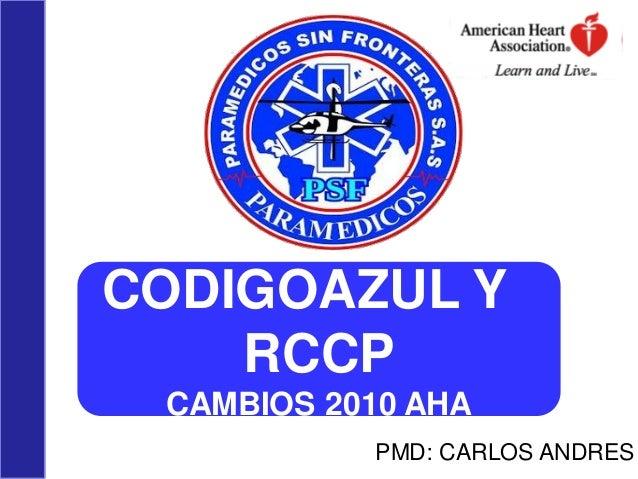 Rcp y codigo azul psf 2013