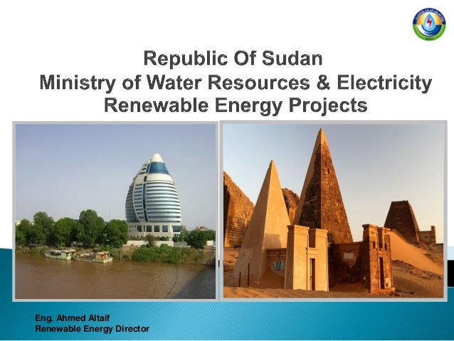 Eng. Ahmed Altaif Renewable Energy Director