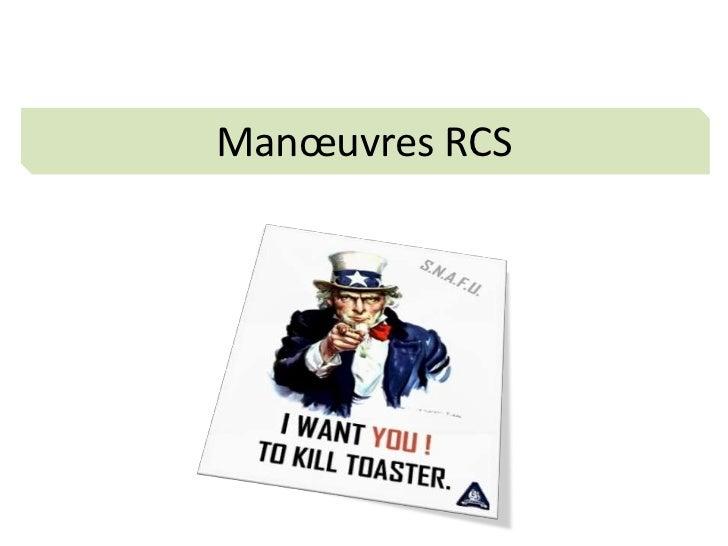 Manœuvres RCS<br />