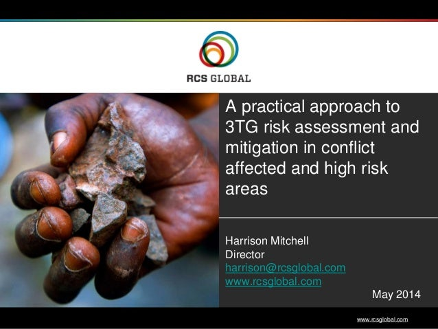 RCS Global - 7th Multi-Stakeholder Forum on Responsible Mineral Supply Chains