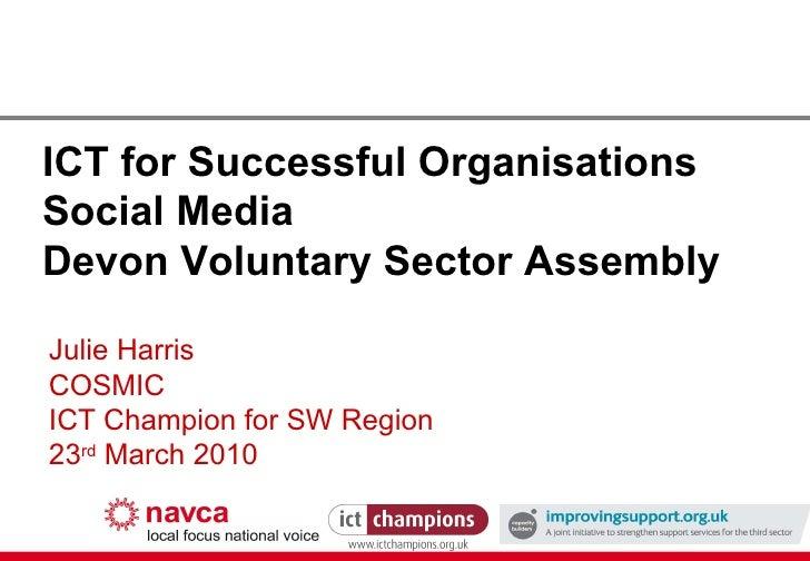 Social Media For Devon VSF