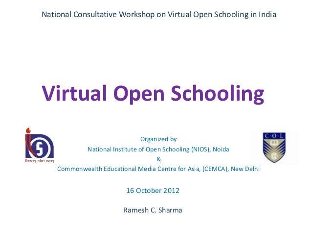 Virtual open schooling