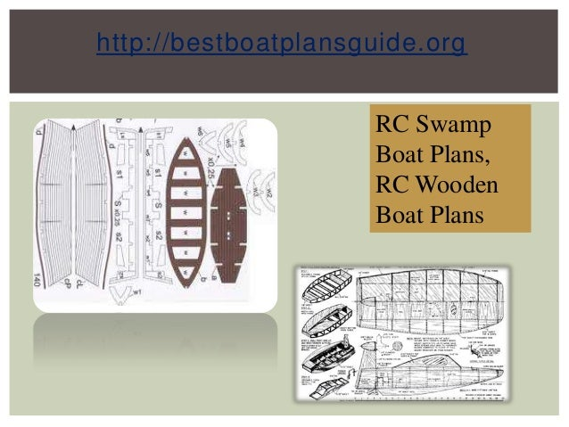 Rc Swamp Boat Plans, Rc Wooden Boat Plans