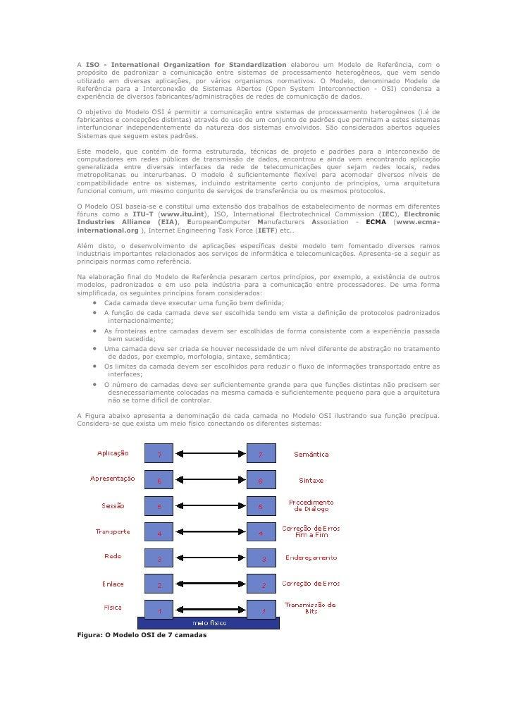 Rct   5 - modelo osi - introdução