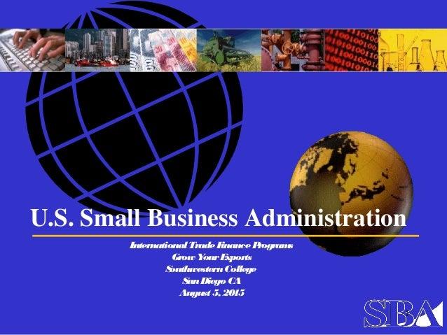 international trade case study ppt