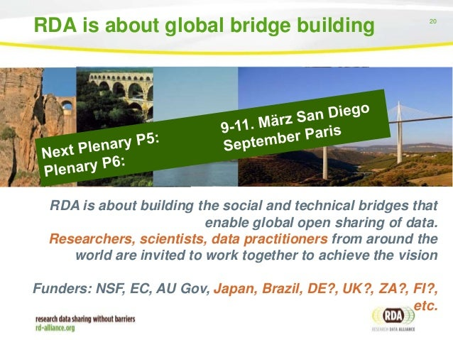 Principles Building Bridge Global Bridge Building 20