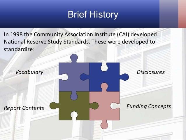 Hoa reserve fund study