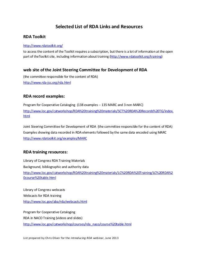Rda Resources: June 2013
