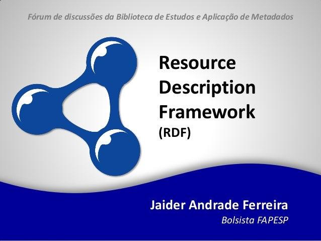 Fórum de discussões da Biblioteca de Estudos e Aplicação de Metadados                                  Resource           ...