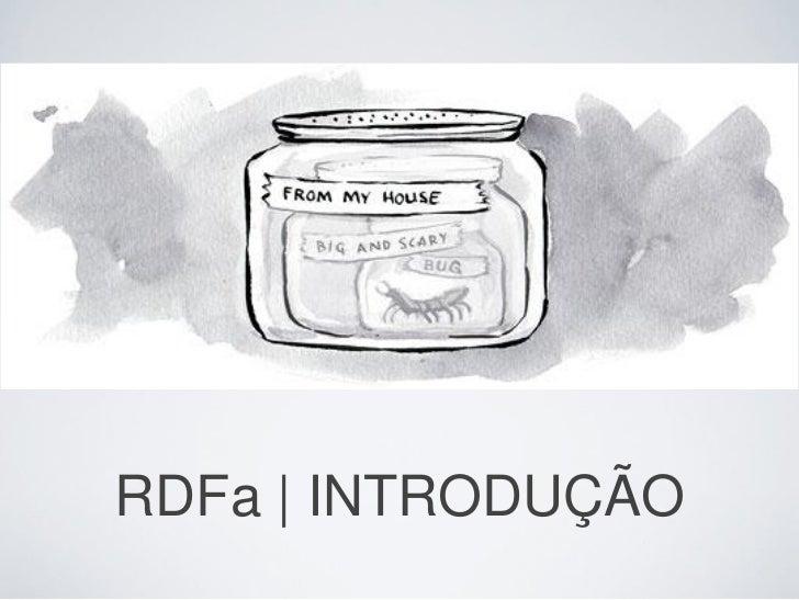 RDFa | INTRODUÇÃO