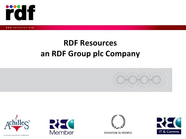 Rdf Group Presentation Pdf