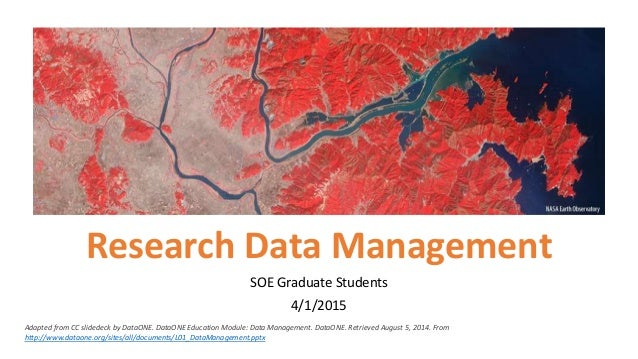 data management research papers