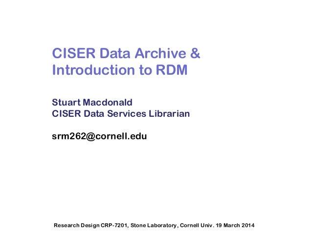 Rdm slides march 2014