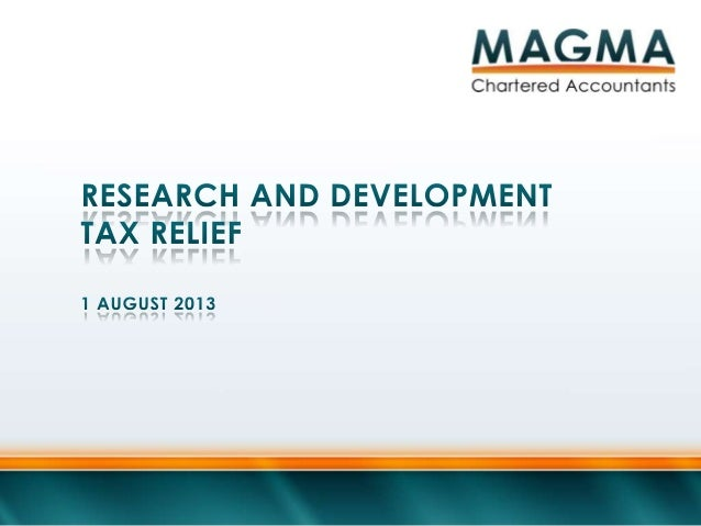 " HMRC defines R&D activities as those which: ""Directly contribute to achieving an advance in science or technology throug..."