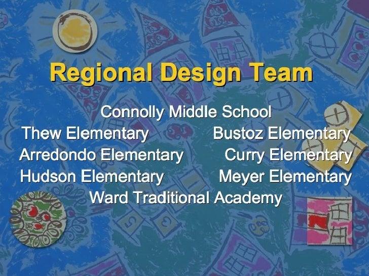 Connolly Regional Design Team Presentation
