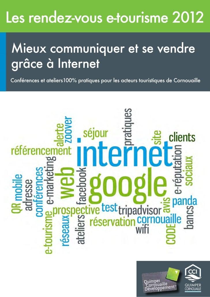 Pays de Cornouaille - Les rendez-vous du e-tourisme.