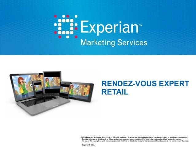 Les Rdv expert marketing cross canal spécial RETAIL