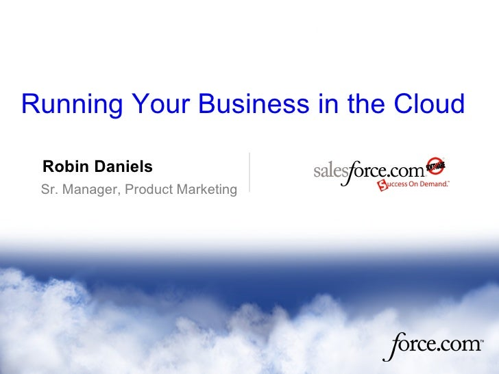 Running Your Business in the Cloud