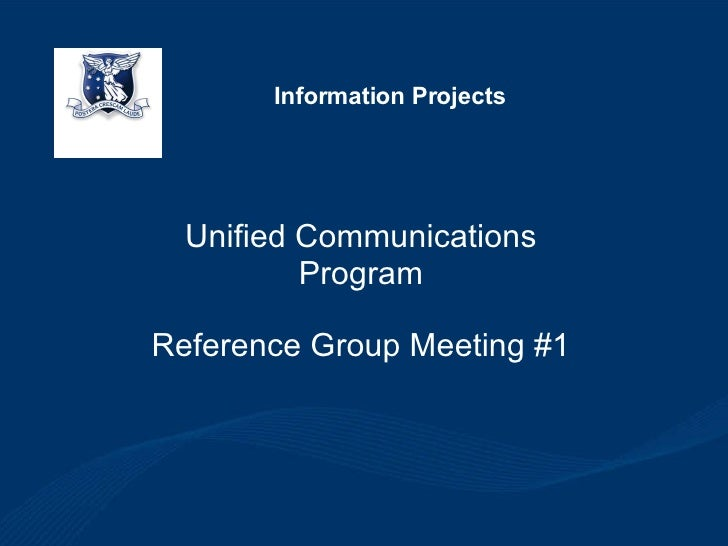 UC Reference Group