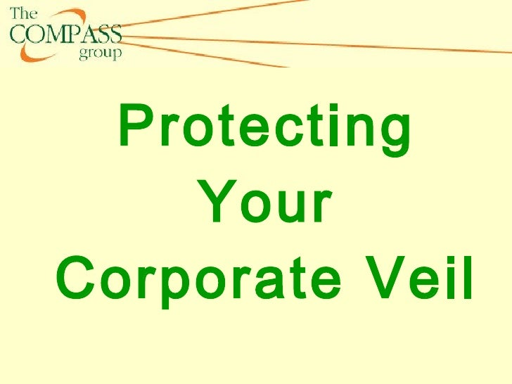 Protecting Your Corporate Veil