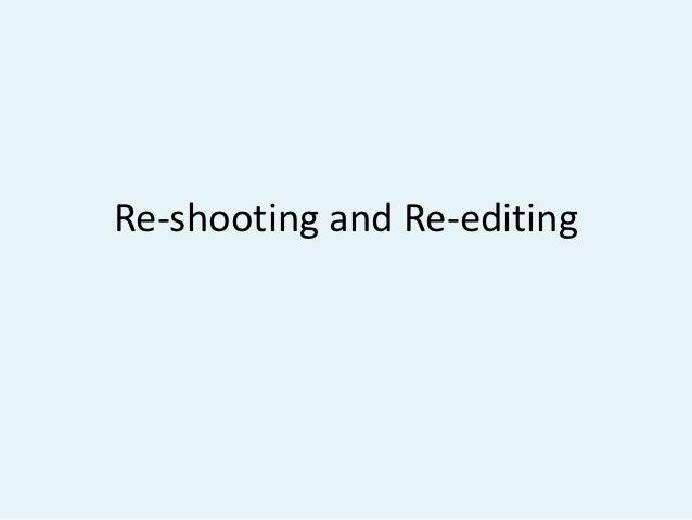 Re shooting