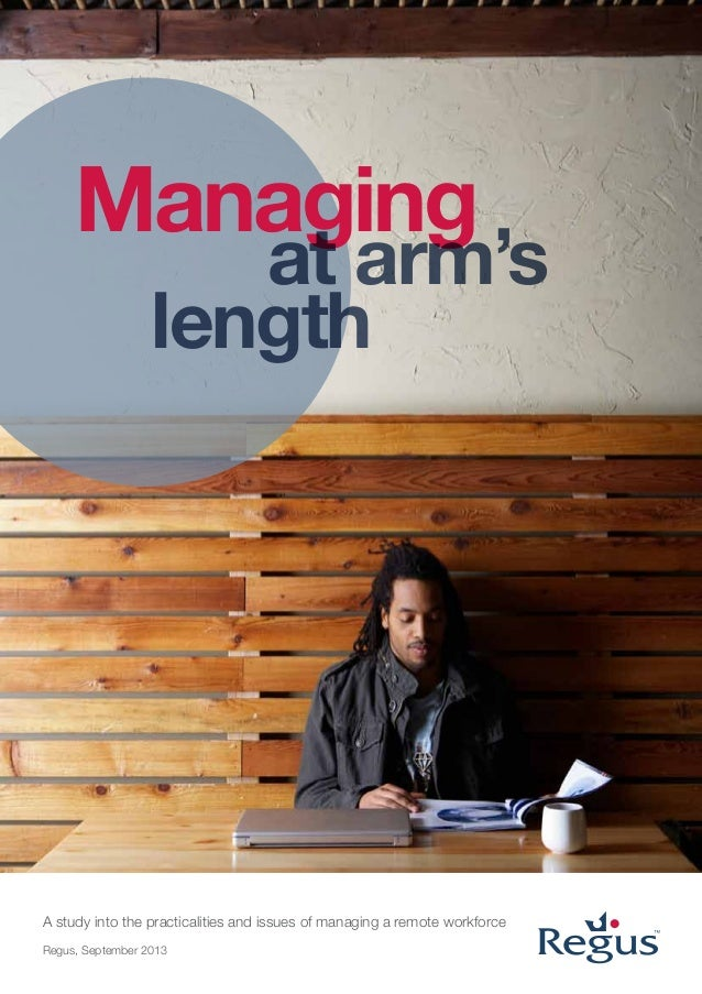 Managing at arm's length