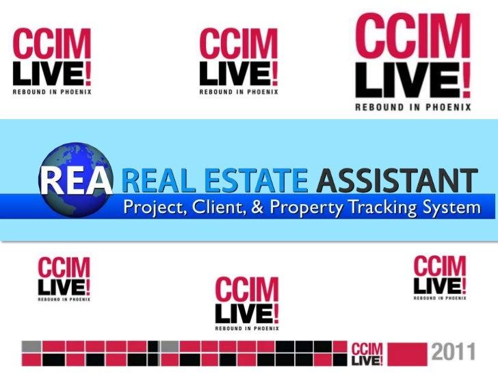 CCIM Live! Vendor Runway - REA