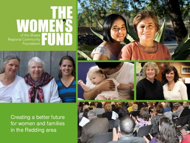 Creating a better futurefor women and familiesin the Redding area