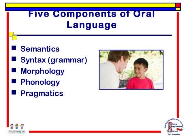 Oral Language Literacy 77