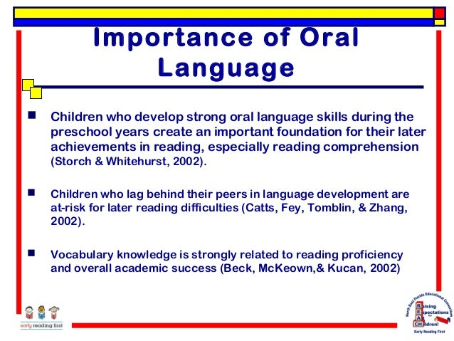 the importance of written communication for early childhood educators Learning standards for young children in the united states have not been written by early childhood educators the importance of a of communication.