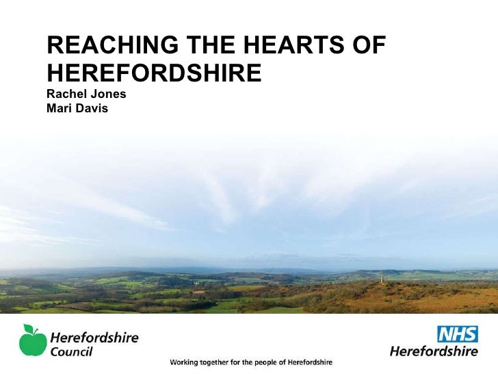 Herefordshire - Total Place summit master class presentation