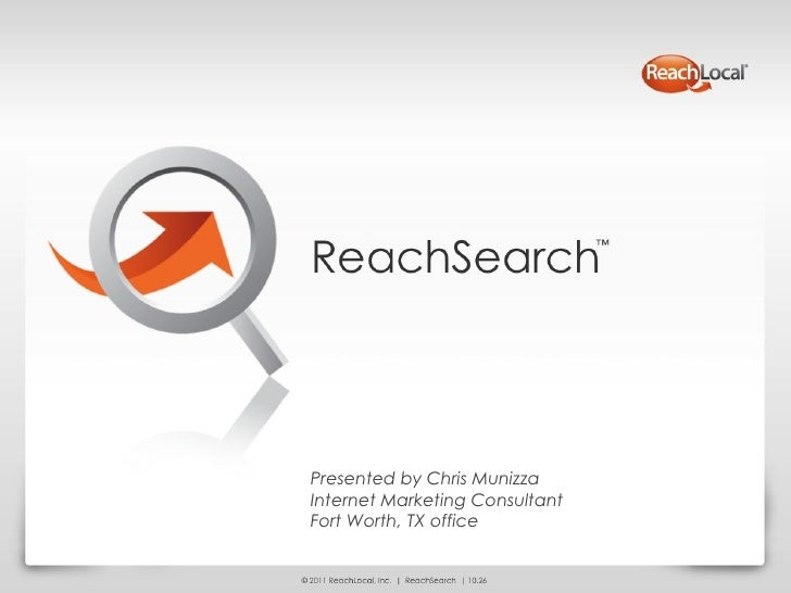 Reach Local Search