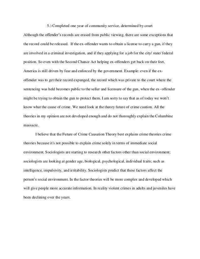 Essay on community service in school