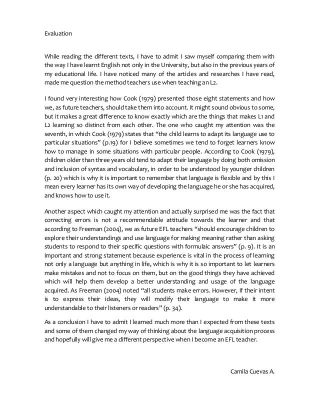 reaction paper for first language acquisition Need to reconsider any approach to second language acquisition (sla)  concerned with explaining how  operationalize learning conditions so  researchers can test hypotheses about sla and  when questions concern  examinees' reaction time, or  in the study by grace (1998), help in the form of  first language (l1.